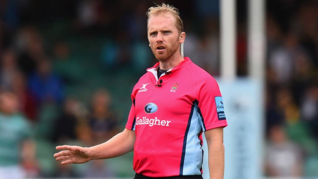 Wayne Barnes to oversee Gallagher Premiership Rugby Final 2019