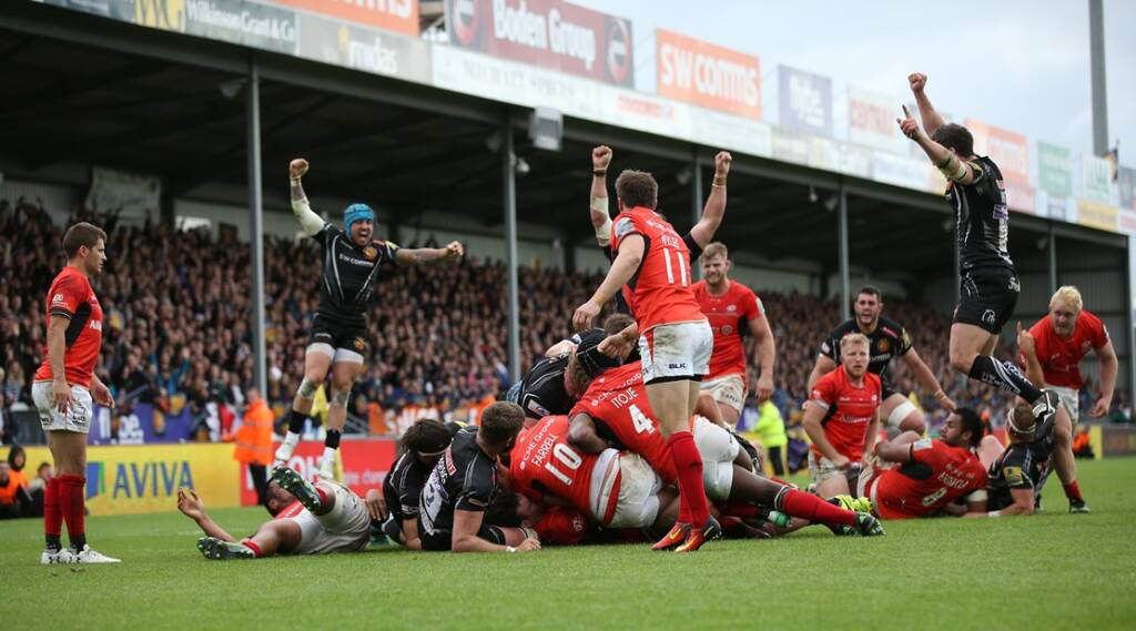 Throwback Thursday: Seismic Saracens versus Exeter Chiefs clashes