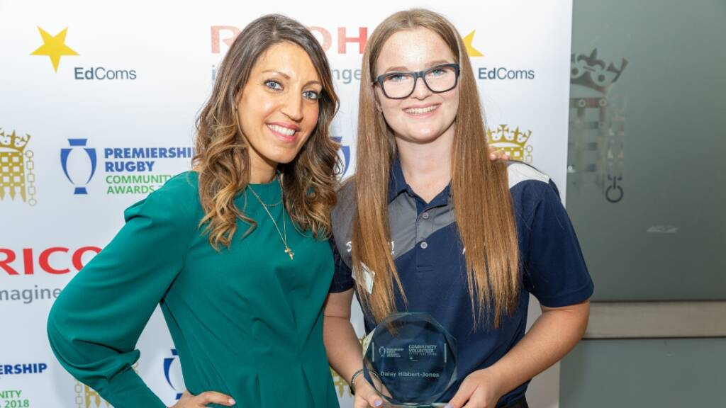 Community Coaches from Harlequins, Sale Sharks and Wasps battle it out for top prize at Premiership Rugby Parliamentary Community Awards
