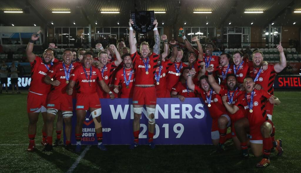 Premiership Rugby Shield 2019-20 fixtures announced