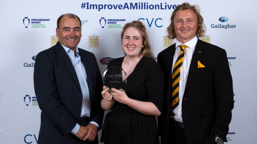 Wasps' Connie Perkins named Community Volunteer of the Year
