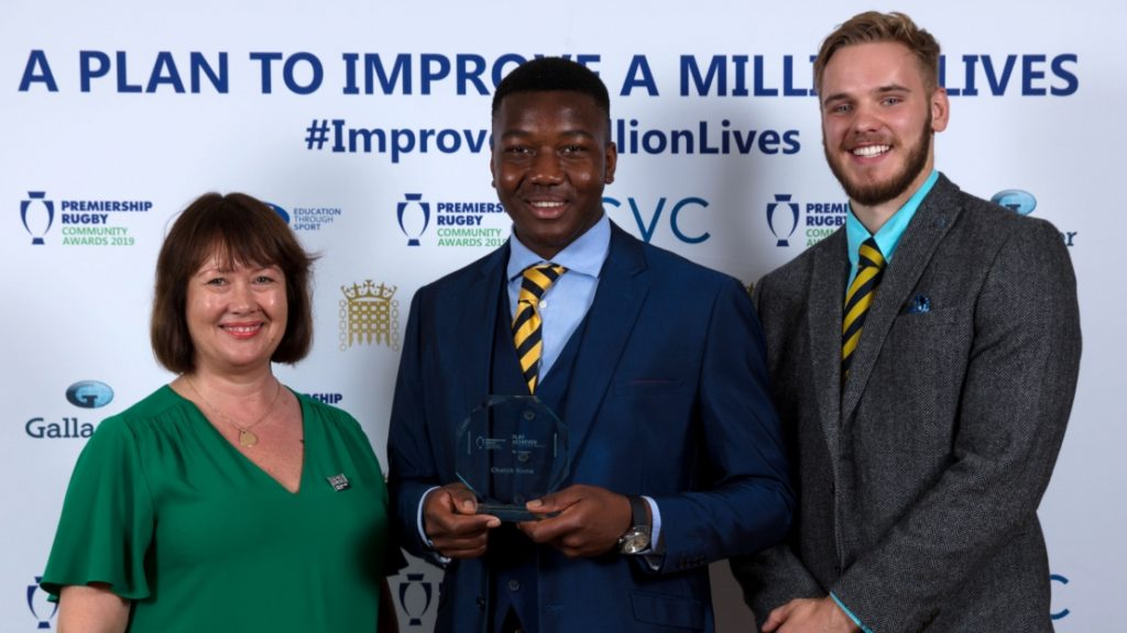 Worcester Warriors Cheick Kone named PLAY Achiever of the Year Award