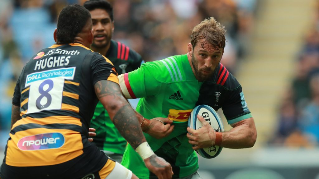 Robshaw confirmed as Harlequins Club Captain for 2019/2020 season