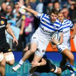 Which Premiership Rugby players have been selected this weekend as England take on Wales