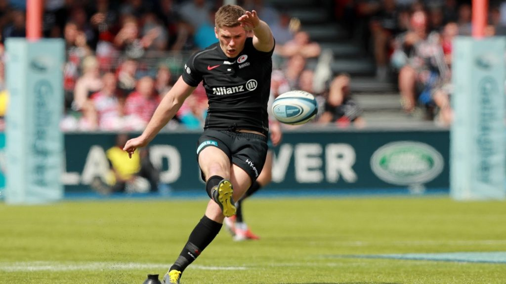 Owen Farrell and George Ford included in England team to face Ireland