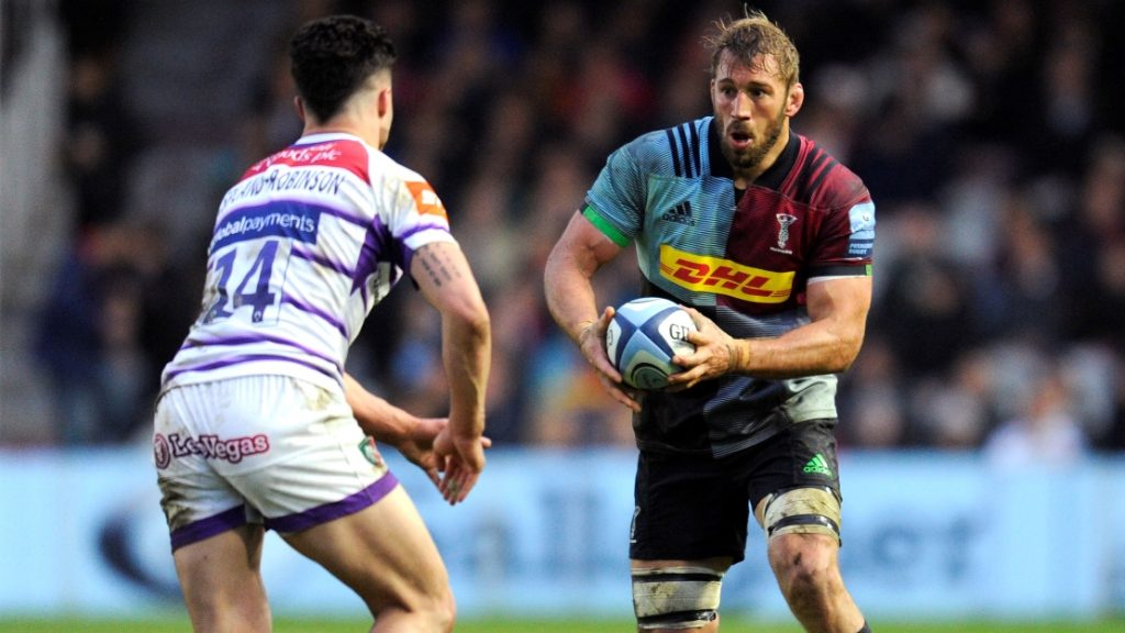 Robshaw has sights set on Harlequins after World Cup disappointment