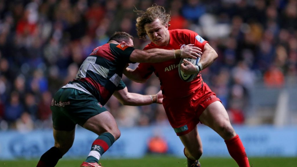 Woolstencroft aiming for more after stellar first year with Saracens