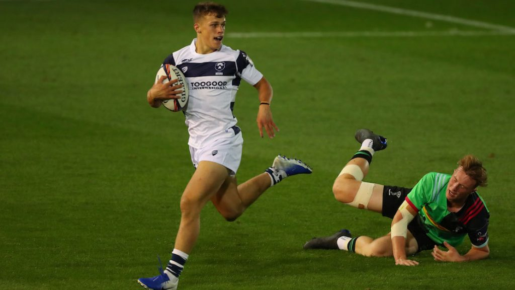 Double hat-trick hero Venner 'honoured' to represent Bristol Bears in Premiership Rugby 7s