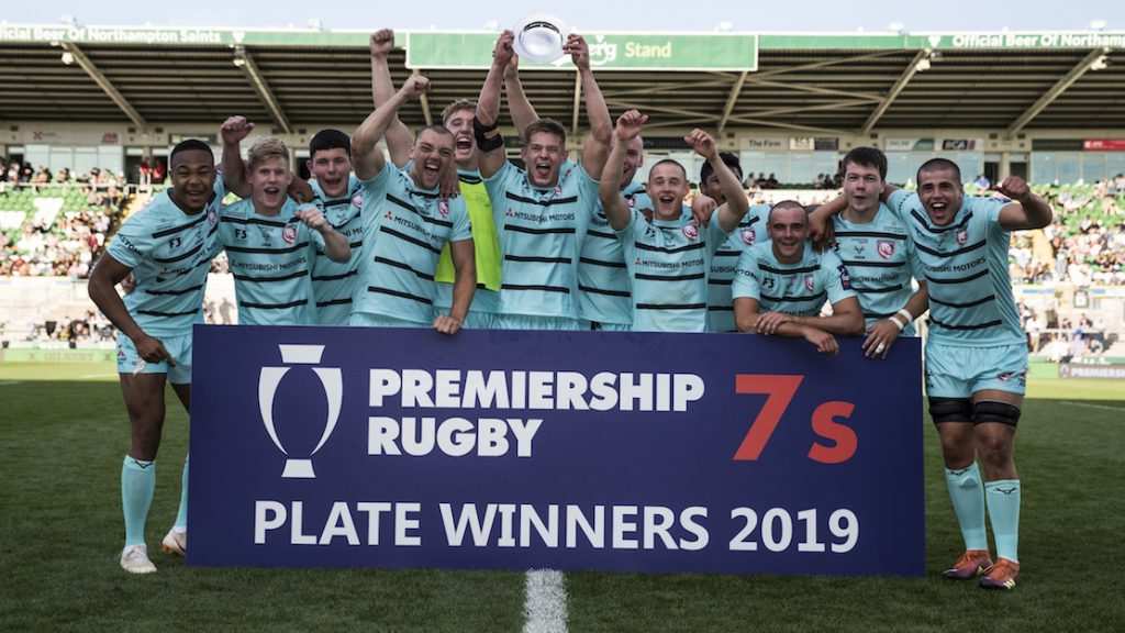 Gloucester Rugby crowned Premiership Rugby 7s Plate champions for third consecutive year