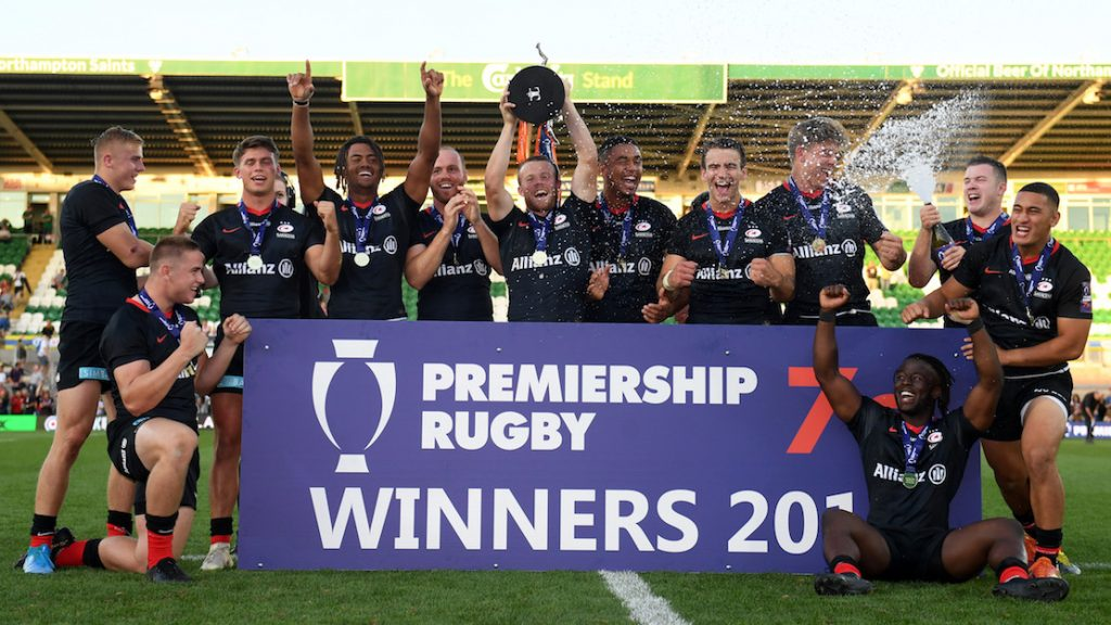 Saracens defend Premiership Rugby 7s title with enthralling victory over Wasps