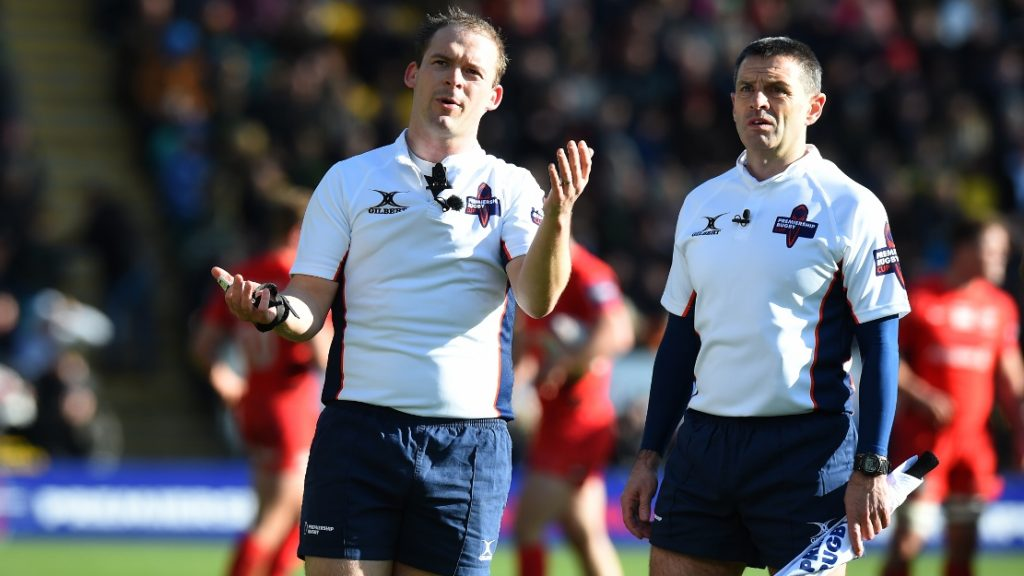 Officials confirmed ahead of Premiership Rugby Cup pool stage conclusion