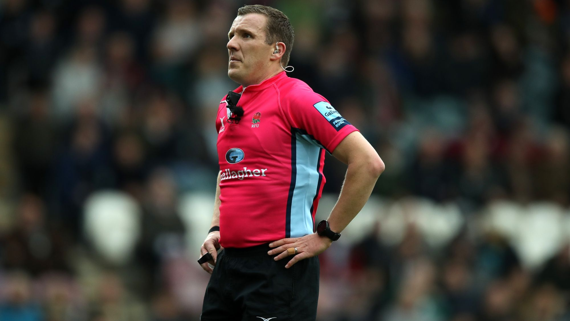 Referees Revealed For Gallagher Premiership Rugby Round Four Premiership Rugby