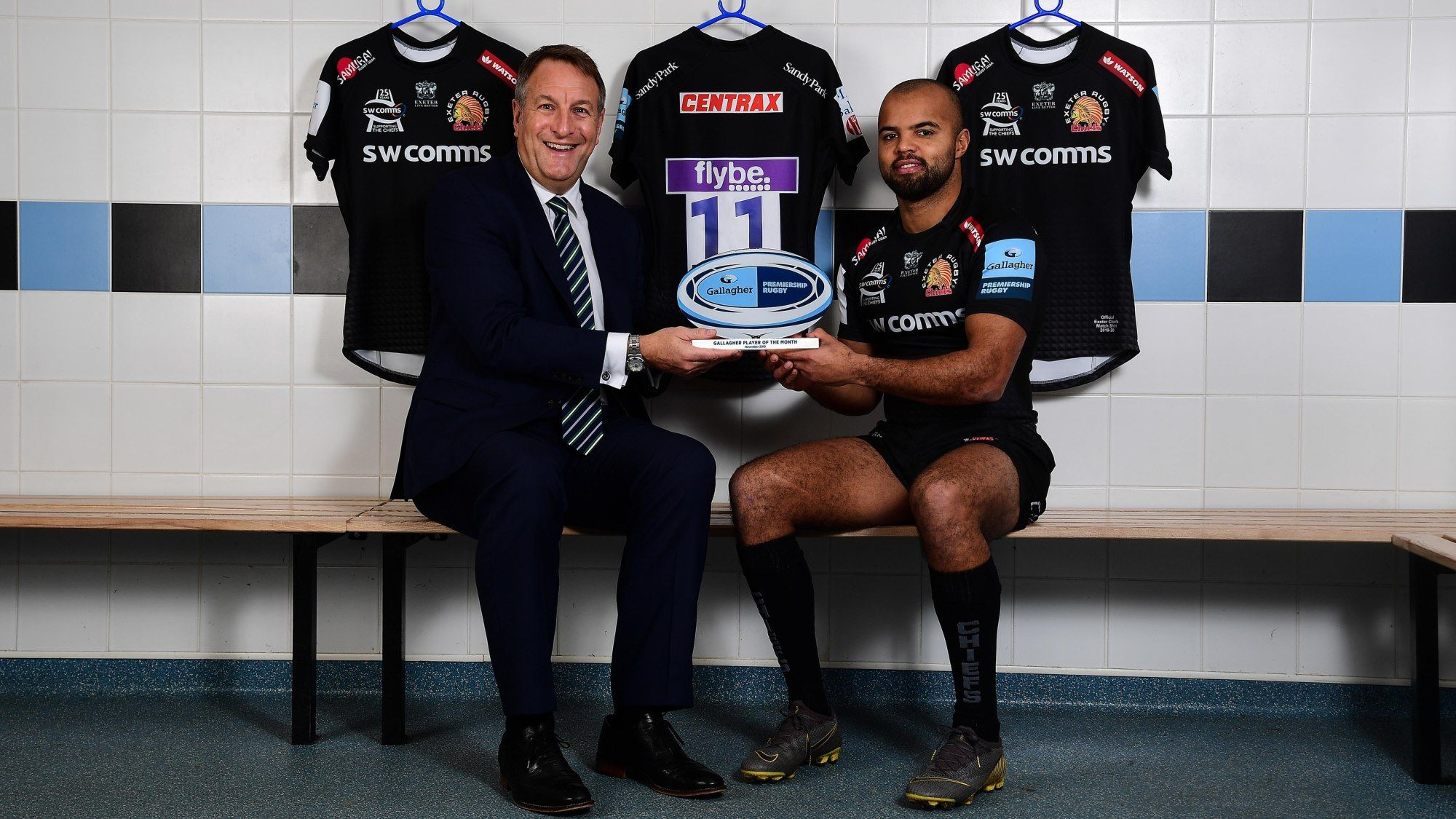Exeter Chiefs Tom O Flaherty Named Gallagher Premiership Rugby Player Of The Month Premiership Rugby