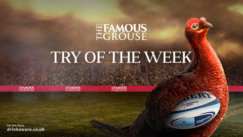 The Famous Grouse Try of the Week