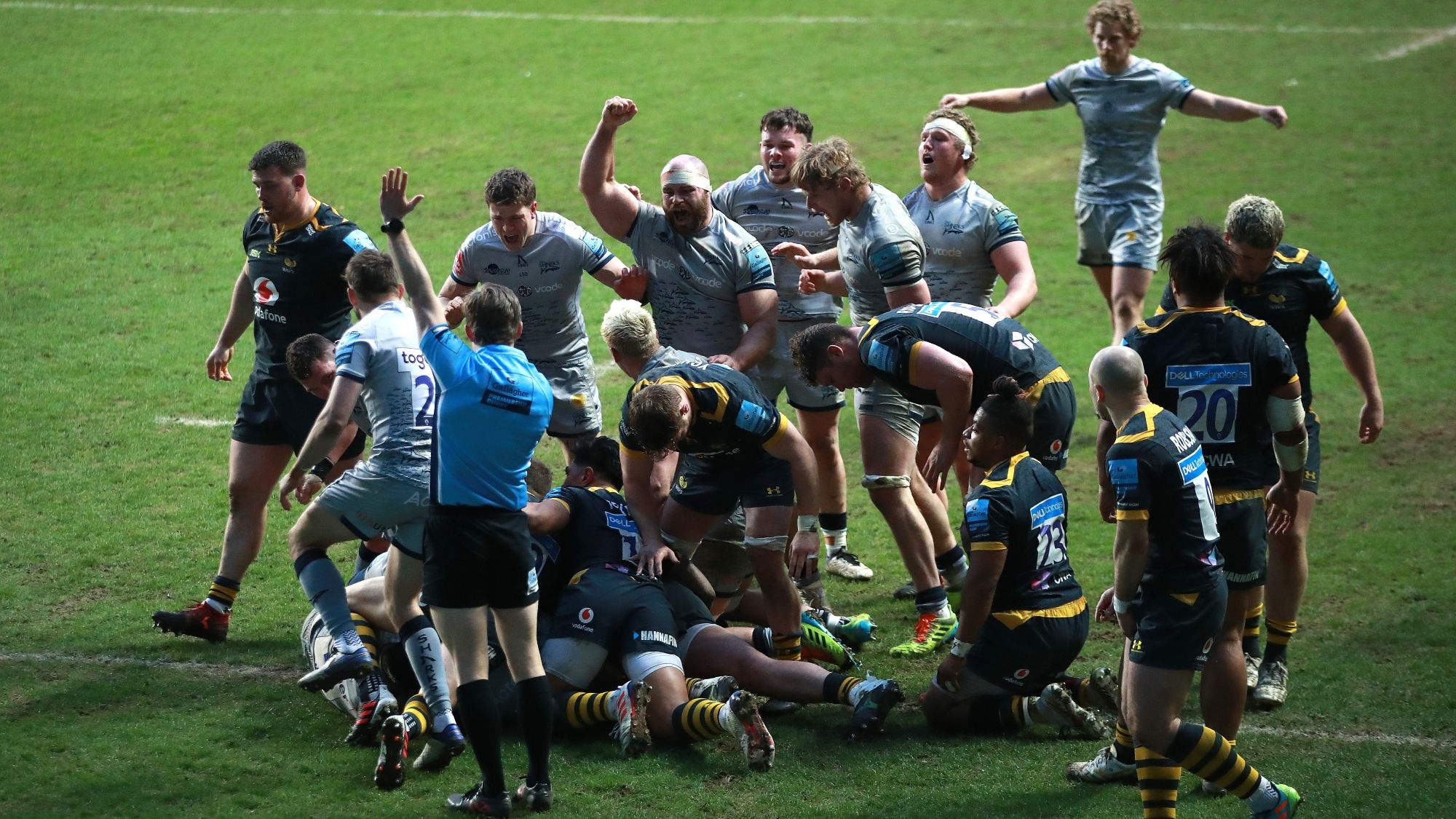 Wasps 19-20 Sale Sharks - Premiership Rugby