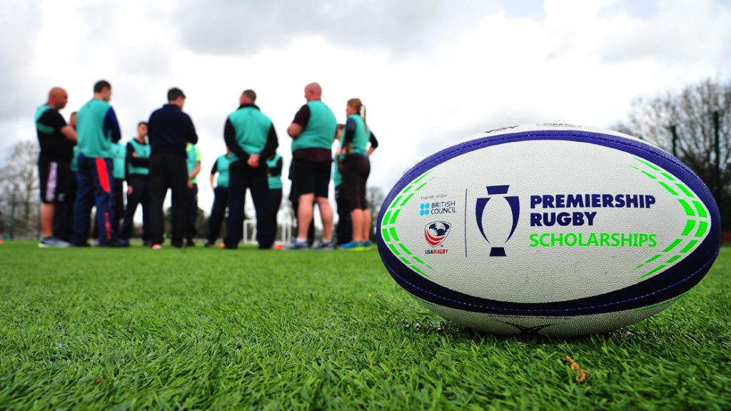 Premiership Rugby Scholarships ball