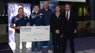 Sale Sharks Donate A Massive £18,000 To Local Rugby Clubs