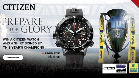 Sale Sharks Win A Stunning Eco Drive Watch Thanks To Citizen