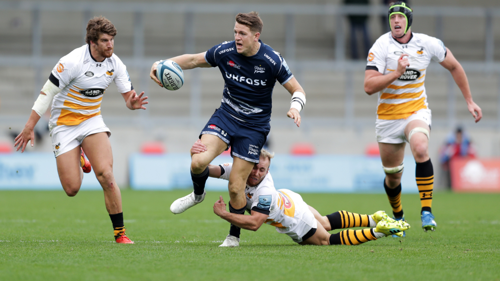 MATCH REPORT: SALE SHARKS  13-31  WASPS