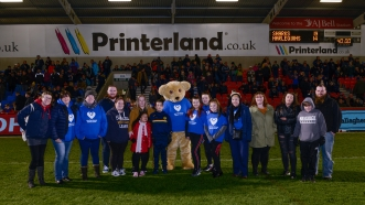 THE CHRISTIE FOUNDATION WATCH NAIL-BITING FIXTURE THANKS TO PRINTERLAND