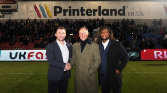 PRINTERLAND INKS NEW DEAL WITH SALE SHARKS