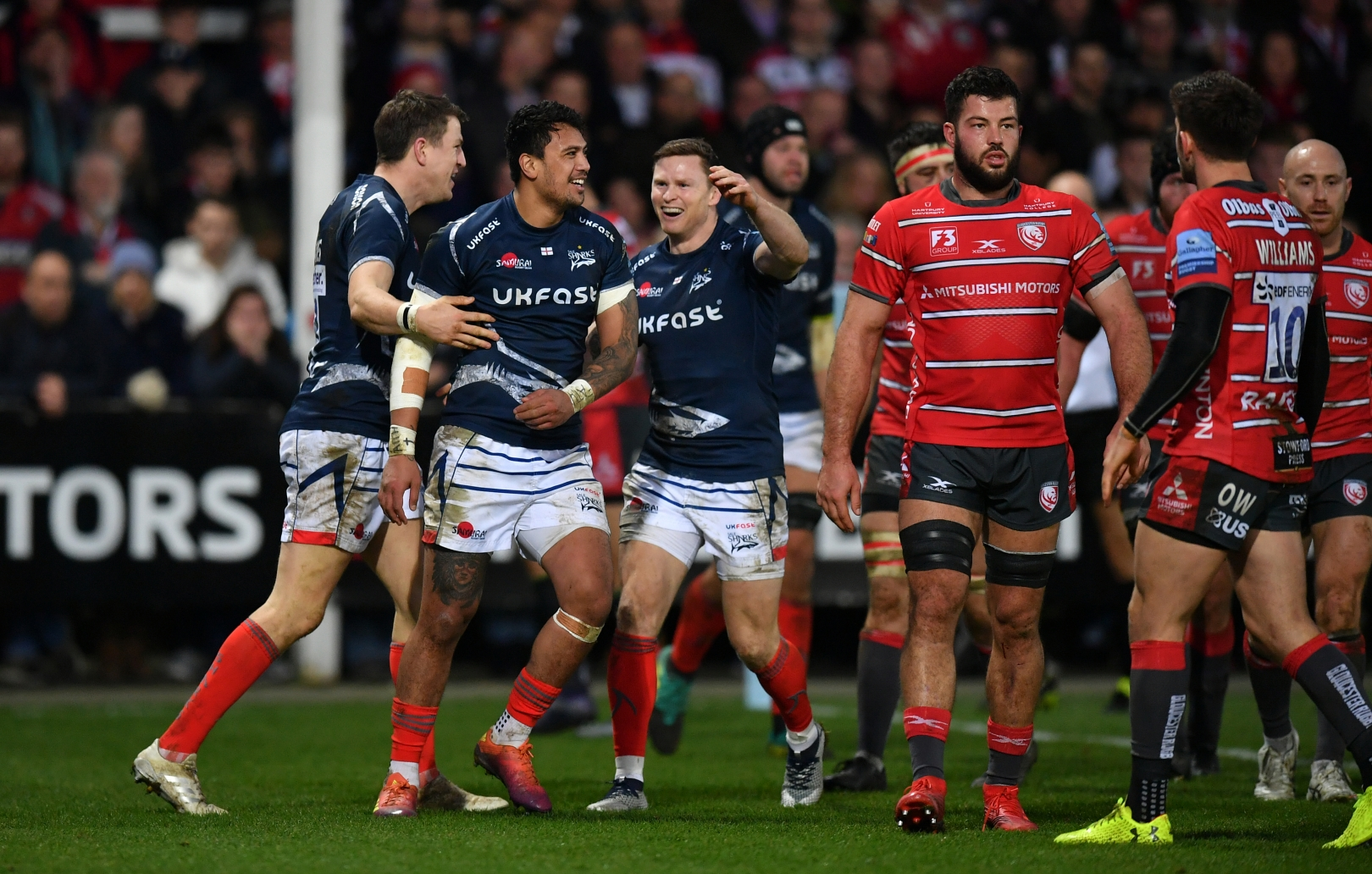 BACK TO THE MATCH – GLOUCESTER RUGBY 15 – 30 SALE SHARKS