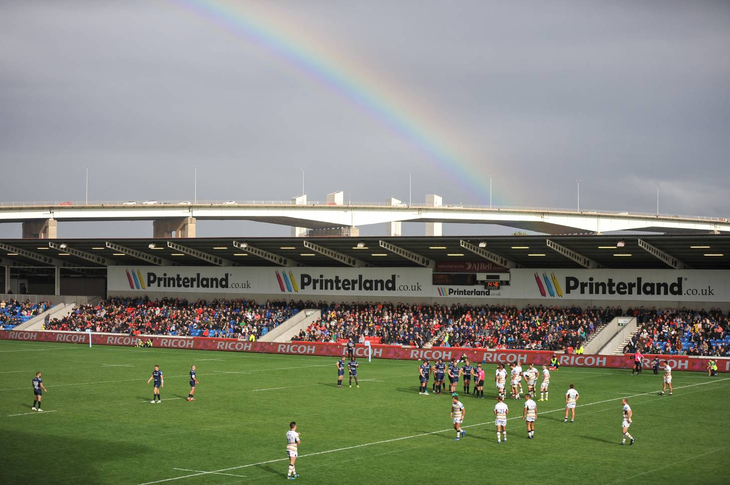 RUGBY IS BACK AT SALE SHARKS FROM JUST £3.00 PER ADULT!