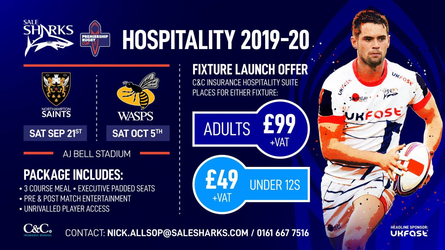PREMIERSHIP RUGBY CUP HOSPITALITY