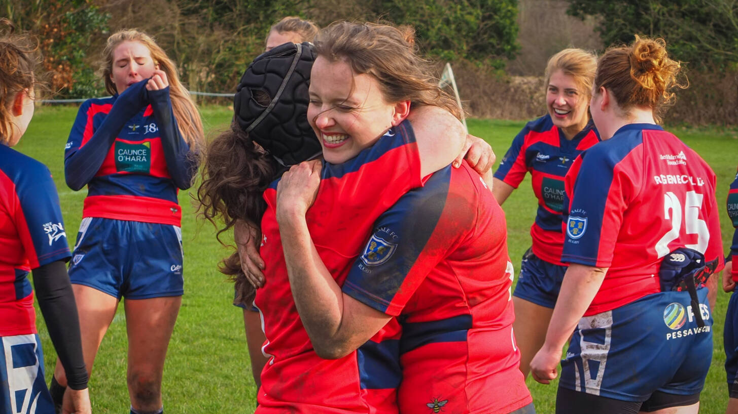 Sale 1861 Women's Team Win The League In 13-Try Thriller