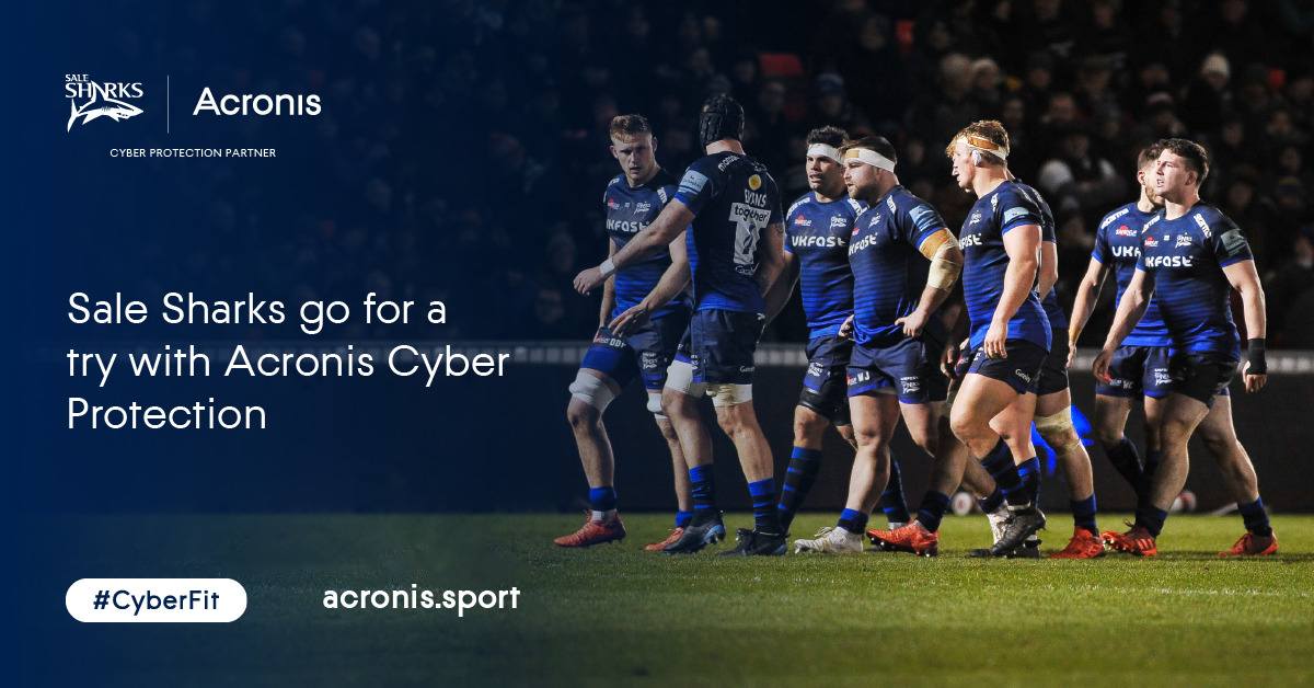 Acronis named as the Cyber Protection Partner of Sale Sharks