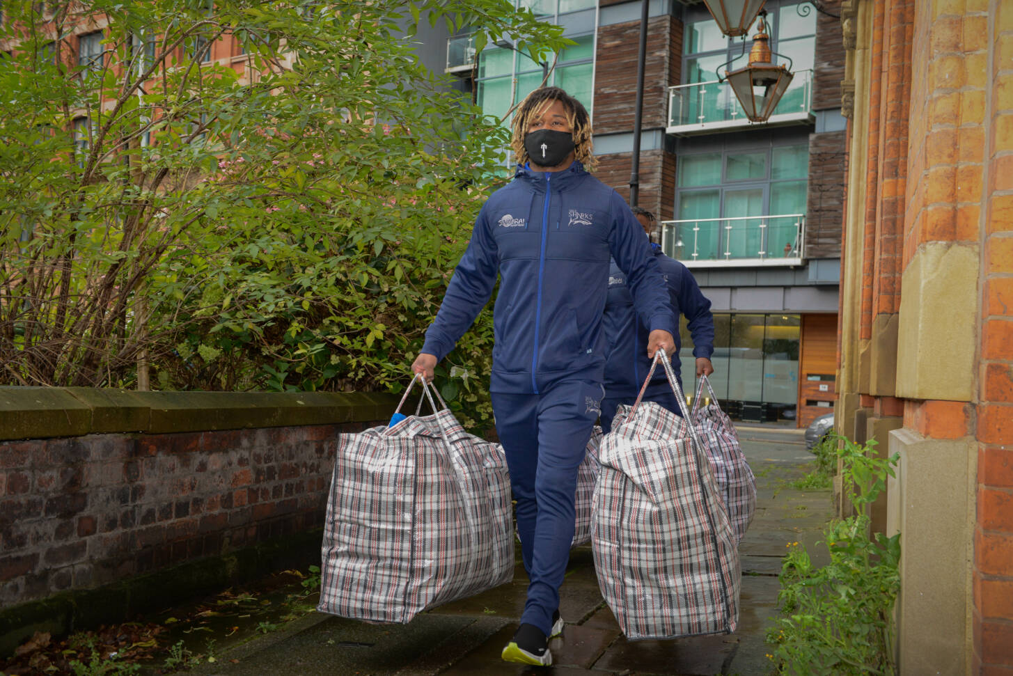 Marland Yarde teams up with Centrepoint to help the homeless