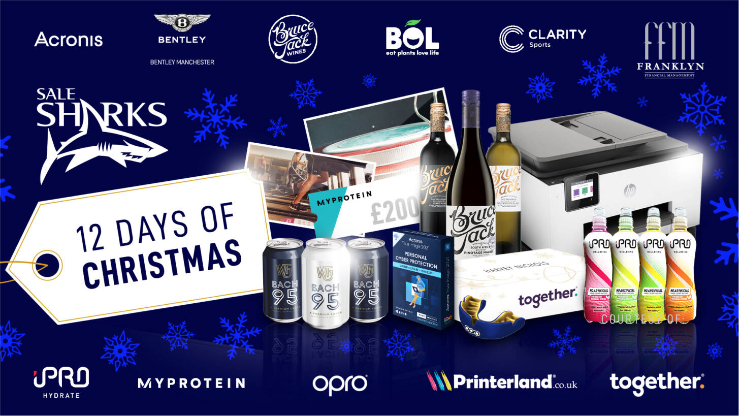 Sale Sharks 12 Days Of Christmas – Giveaway