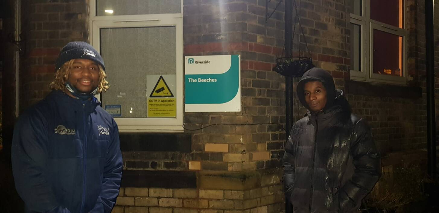 Marland Yarde cooks up a storm as he delivers hot meals to Manchester hostels