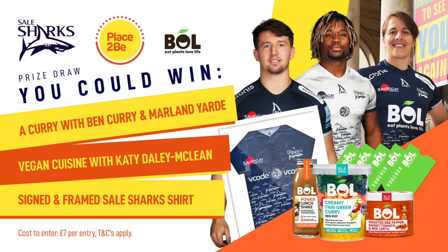 WIN a Curry with Ben Curry & Marland Yarde or Vegan Cuisine with Katy Daley-Mclean