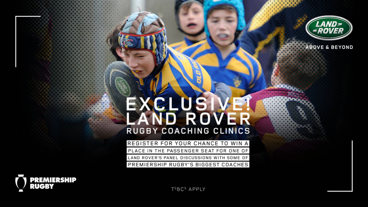 EXCLUSIVE! Land Rover Rugby Coaching Clinics