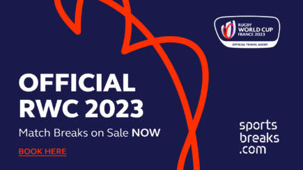Rugby World Cup 2023 Official Match Breaks On Sale Now!