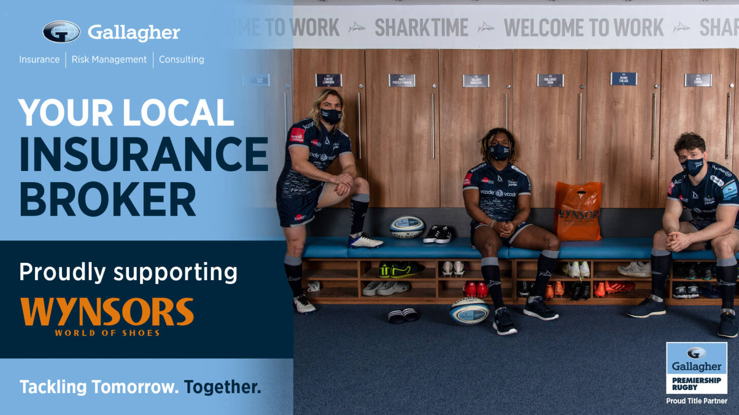 Your chance to win a Gallagher Premiership ball, signed by Sale Sharks!