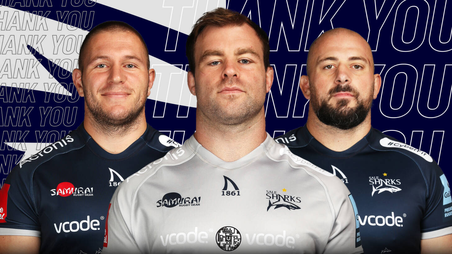 Sale Sharks confirm departing players