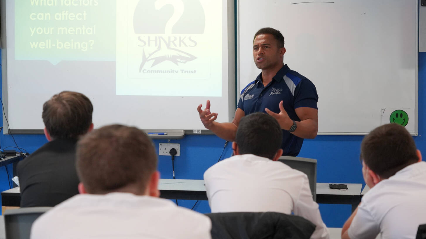 Sharks team up with Printerland to promote mental wellbeing