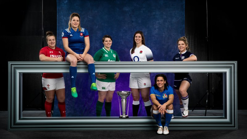 Captains reveal excitement at Women's Six Nations launch