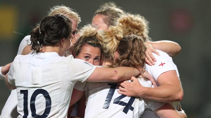 Captain Hunter praises England's resilience