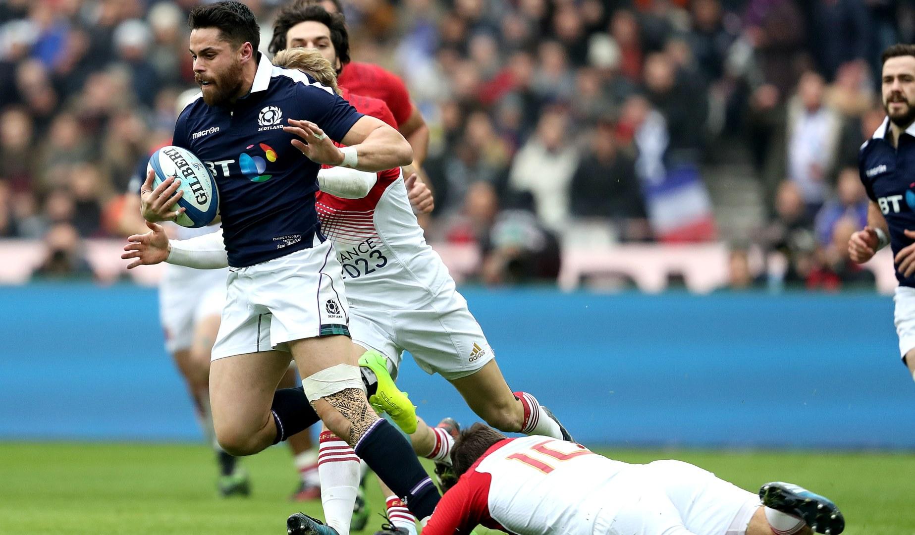 Maitland relishing battle with Scotland teammate Seymour
