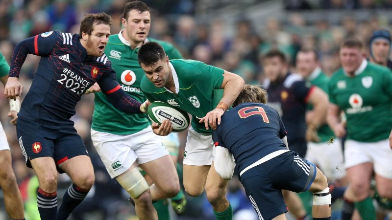 Ireland enjoy perfect homecoming against France