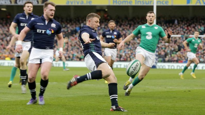 Weir set to miss Scotland's Autumn Tests