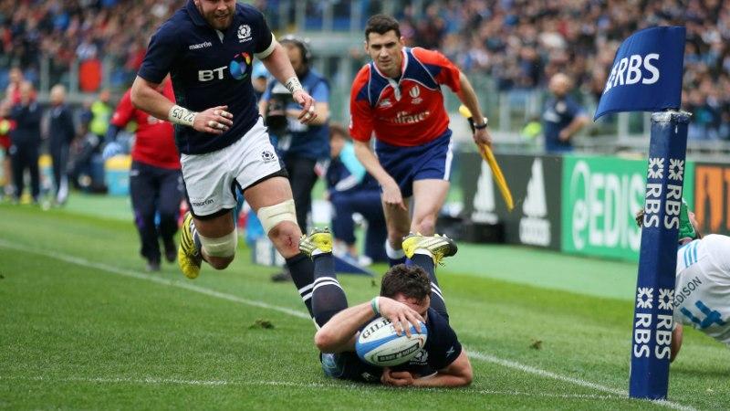 Hardie says Scotland will release the handbrake