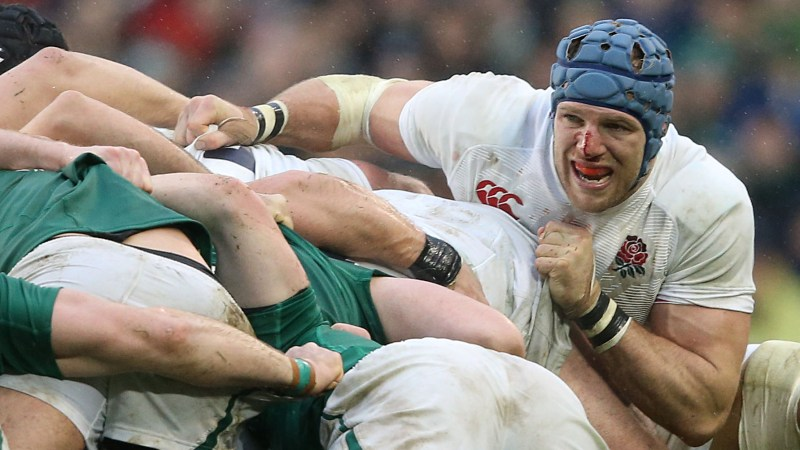 Ruthless Haskell targets England shirt