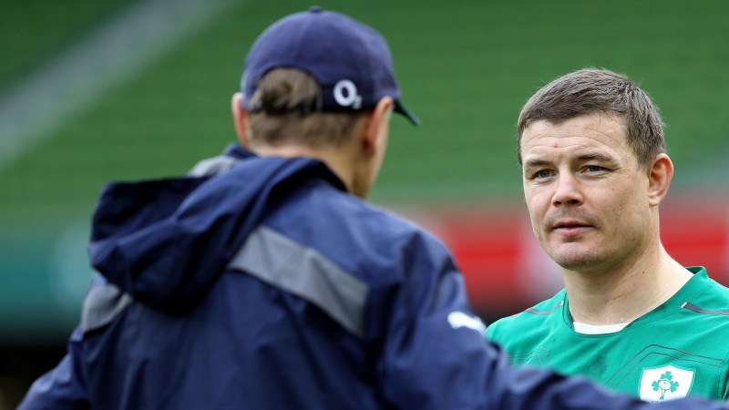 O'Driscoll to break another Ireland record