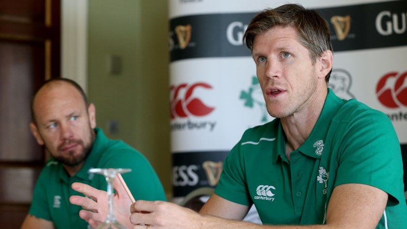 Easterby backing uncapped players to fill Ireland's gaps
