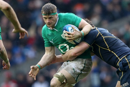 Heaslip excited by Ireland youngsters