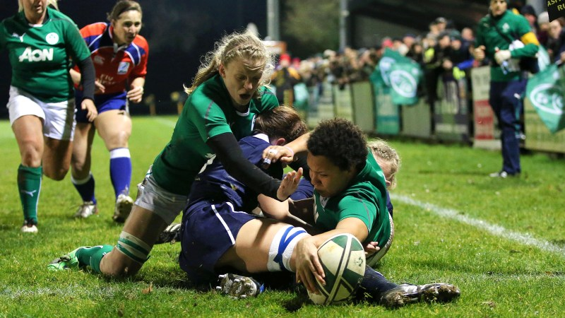 Ireland Women begin title defence with a bang